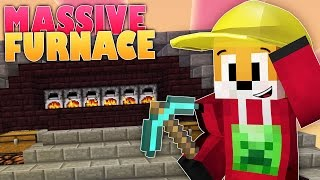 Minecraft Survival | INDUSTRIAL FURNACE ROOM | Foxy's Survival World [116]