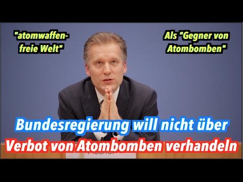 Boykott: Bundesregierung will NICHT über Verbot von Atombomben verhandeln!