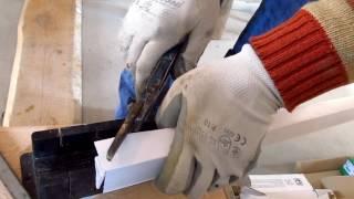 Как зарезать плинтус под углом 45 градусов