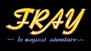 [MSX tR] Fray in Magical Adventure - Playthrough