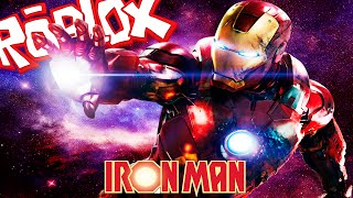 ROBLOX SUPERHEROES TYCOON - IRON MAN FOR A DAY!!! - Spanish Gameplay