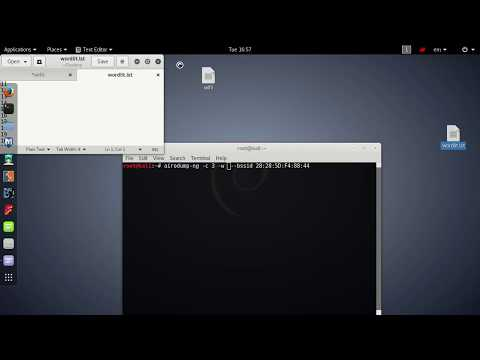 How to hack wifi password using aircrack-ng ( kali linux )