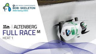 Altenberg | BMW IBSF World Championships 2020 - 2-Man Bobsleigh Heat 1 | IBSF Official