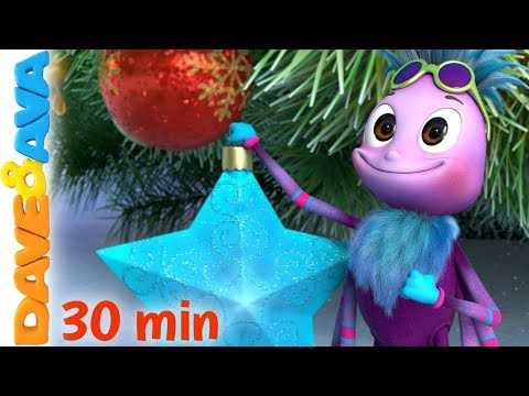 Free Download 🎄itsy Bitsy Spider - Christmas Version | Christmas Songs For Kids | Dave And Ava 🎄 Mp3 dan Mp4