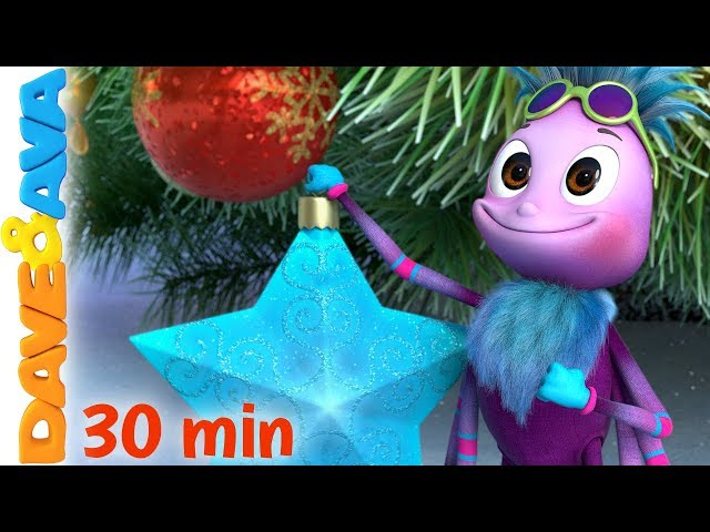 🎄Itsy Bitsy Spider - Christmas Version | Christmas Songs for Kids | Dave and Ava 🎄