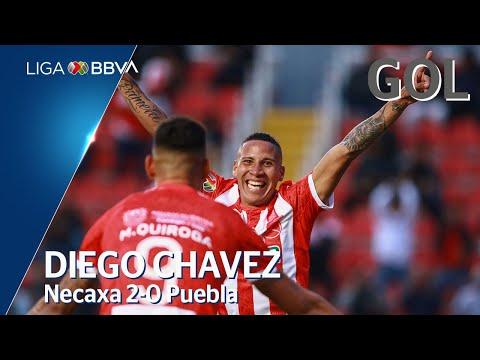 Gol de D. Chávez | Necaxa 2 - 0 Puebla | Liga BBVA MX - CL 2020  - Jornada 4