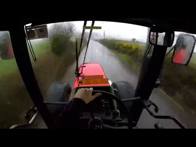Working The 6190 At Slurry Gopro