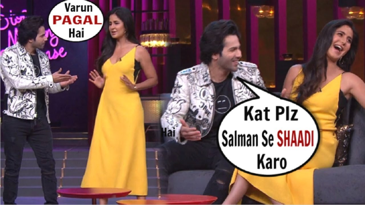 Katrina Kaif & Varun Dhawan's BEST Moments On Koffee With Karan Season 6