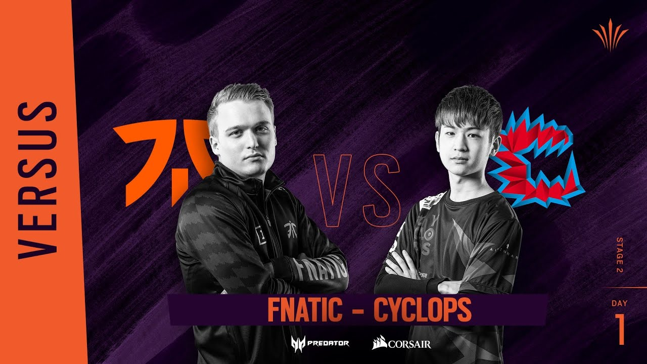 Fnatic vs Cyclops // Rainbow Six APAC North Division 2020 - Stage 2 - Playday #1