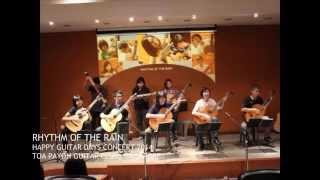 RHYTHM OF THE RAIN - HAPPY GUITAR DAYS 2014