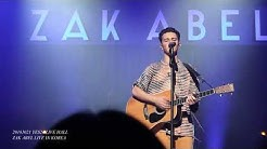 ZAK ABEL - All I Ever Do(Is Say goodbye) LIVE IN KOREA 20181021