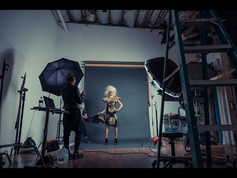 Behind The Scenes - Editorial Fashion...