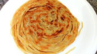 Lachha Paratha | Multi Layered Indian Flat Bread | Flaky Layered Paratha