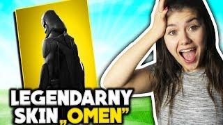 NEW LEGENDARY SKIN OMEN IN ACTION! | Fortnite Battle Royale