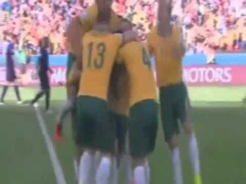 FIFA World Cup 2014- Netherlands vs Australia( 3- 2)_All Goals & Highlights