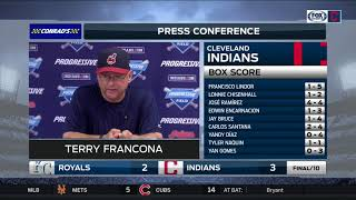 Indians win streak at 22: Terry Francona on the special run his Tribe is on