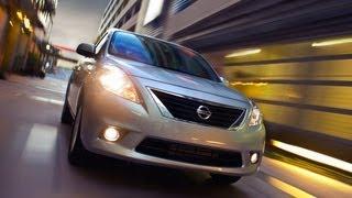 2012 Nissan Versa Review & Drive