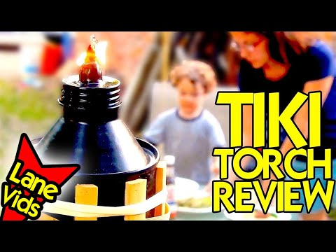 BEST TIKI TORCH to REPEL MOSQUITOS with CITRONELLA FUEL