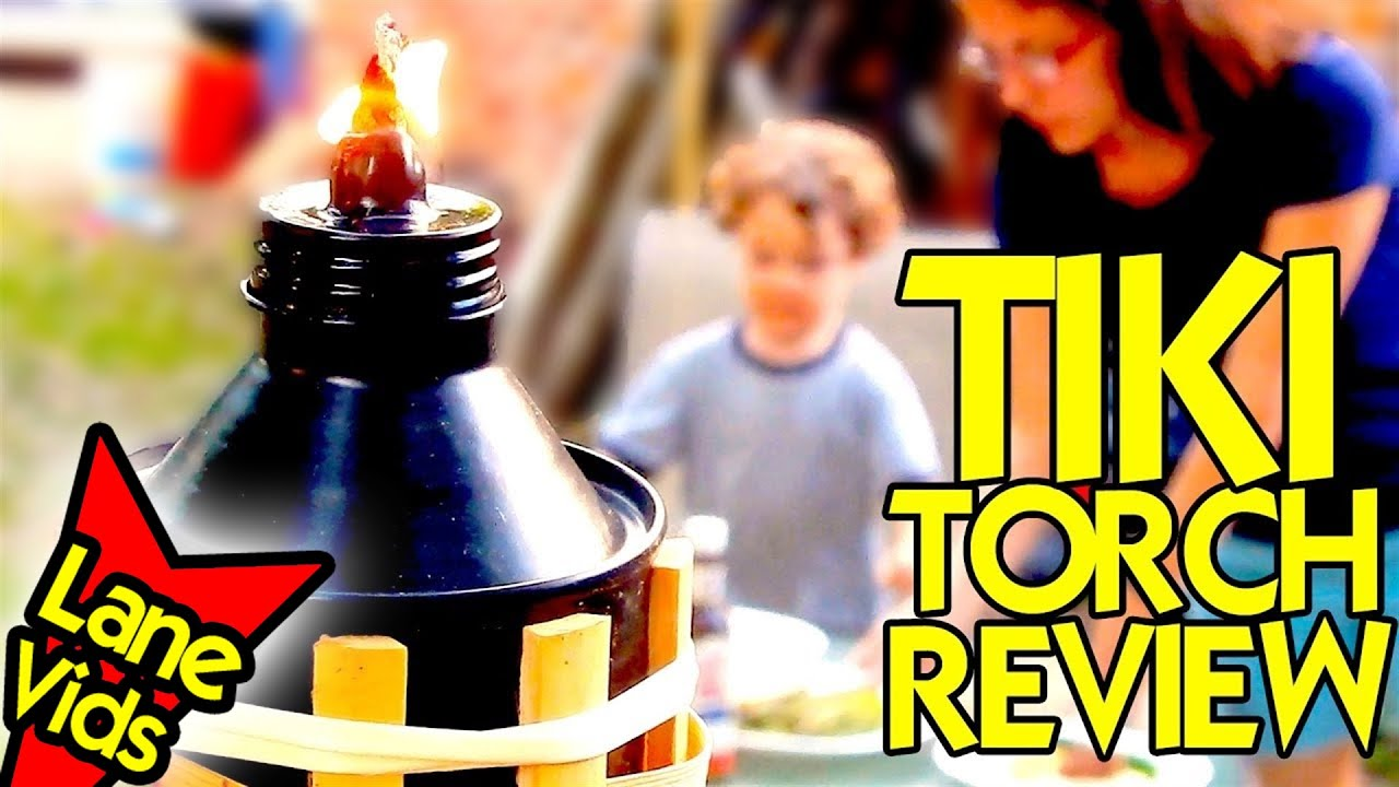 best tiki torch to repel mosquitos with citronella fuel youtube