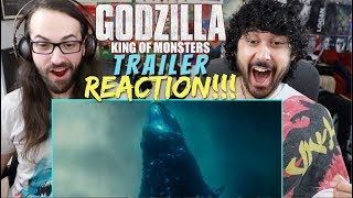 GODZILLA: KING OF THE MONSTERS - Official TRAILER 1 - REACTION!!!