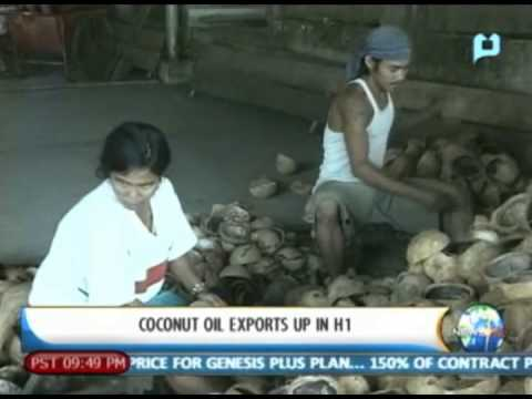 NewsLife: Coconut oil exports up in H1 || August 7, 2013