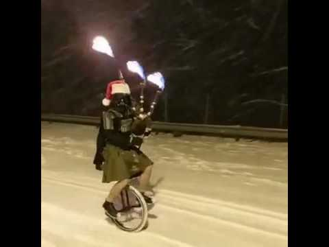 Portland's Best Driver in the Snow...