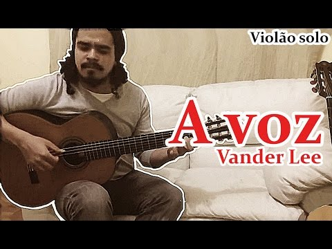 Vander Lee - A voz (Violão Solo Fingerstyle) MPB #16