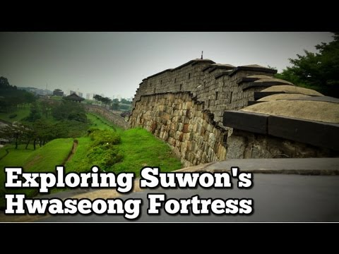 Exploring Suwon's Hwaseong Fortress in South Korea | Adventure Strong