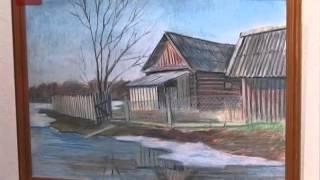 Jткрылась выставка юного художника Даниила Стахова