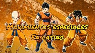 Yamcha,Krilin y Gohan movimientos especiales mod latino