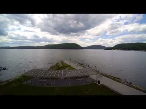 Steadicam and Drone - Peekskill Waterfront