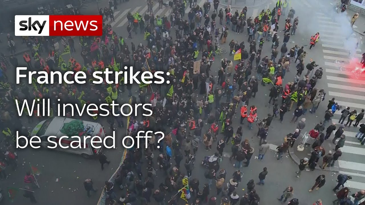 Will French rail strikes deter foreign investors?
