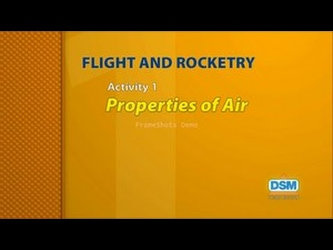 Flight and Rocketry - Activity 1: Properties of Air