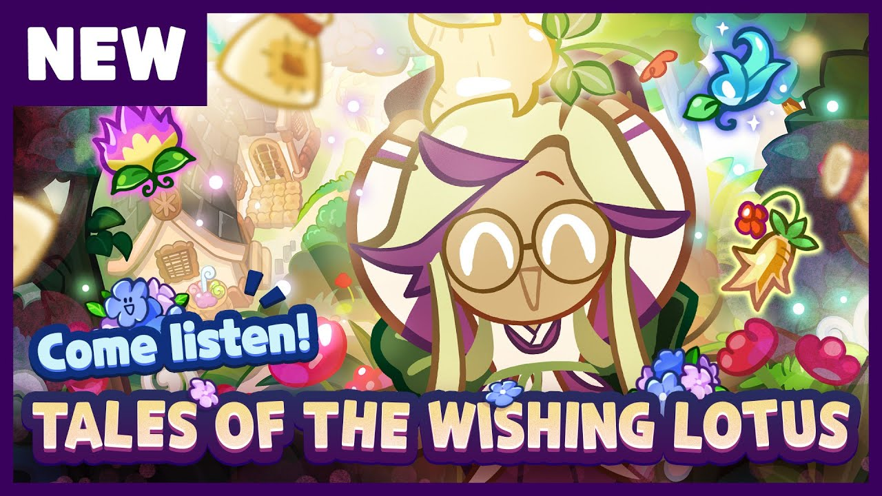 New Cookie Run Update - Tales of The Wishing Lotus (ft. Bellflower Cookie)