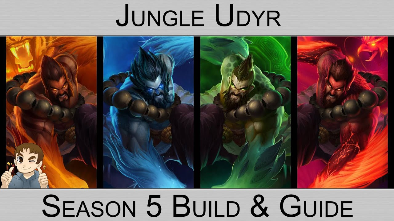 how to play udyr jungle s6