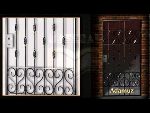 Rejas de dise o puertas de rejas hierro portones ventanas herreria youtube Rejas de diseno