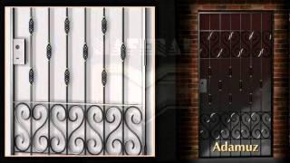 Repeat youtube video Rejas de Diseño - Puertas de Rejas - Hierro - Portones - Ventanas - Herreria