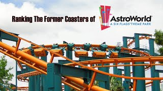 List Of Six Flags Astroworld Rides