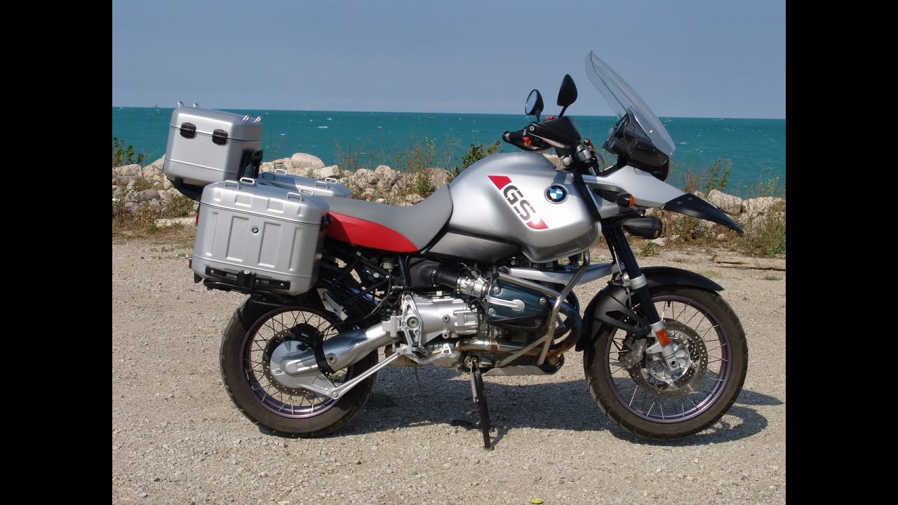 2004 bmw r1150gs adventure silver youtube. Black Bedroom Furniture Sets. Home Design Ideas