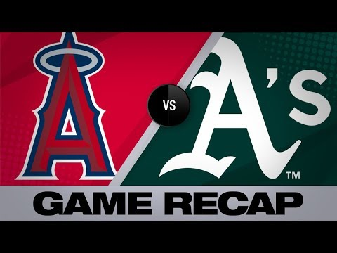 7-run 7th Powers A's Past Angels | Angels-Athletics Game Highlights 9/5/19