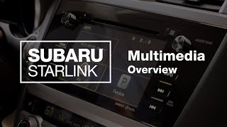 homepage tile video photo for SUBARU STARLINK Multimedia Overview (2020 Updated)