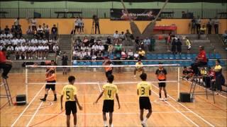 National Sepak Takraw Finals 2015 YISS vs YHS 1st Regu