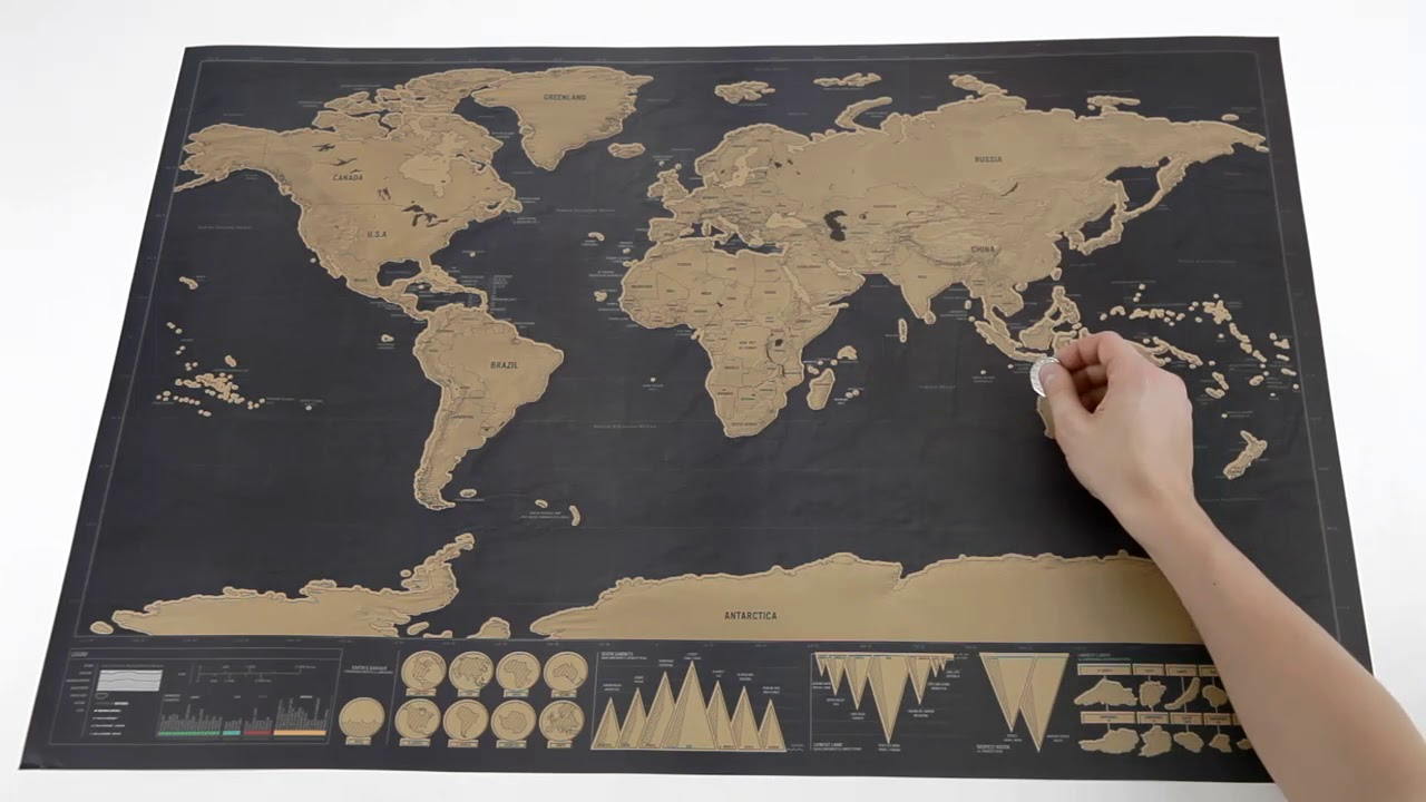 World Map Store.Small Scratch World Map Moma Design Store Youtube