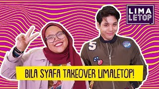 LimaLeTop! | Bila Syafa Takeover LimaLetop! ft. Aqid