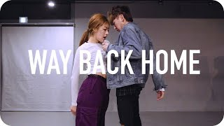 Way Back Home Sam Feldt Edit SHAUN ft Conor Maynard Youjin Kim Choreography