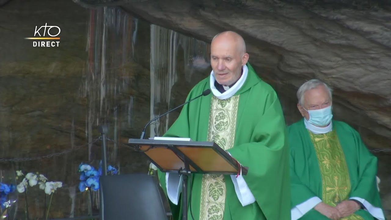 Download Messe de 10h à Lourdes du 17 octobre 2021