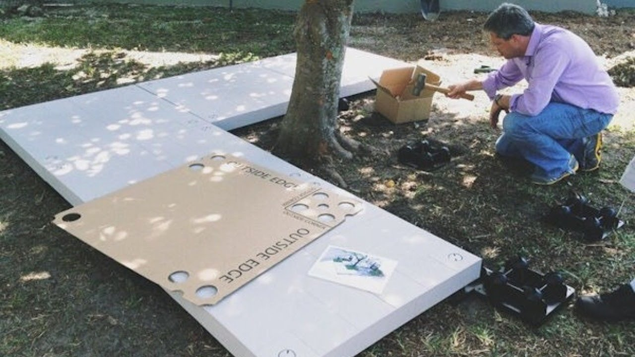 see the udecx deck system it s easy to install