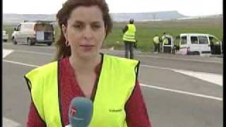 Noticias. Accidente mortal en Almansa