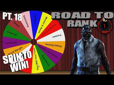 Dead By Daylight The Doctor | SPIN FOR THE WIN! | PERK ROULETTE PT.18