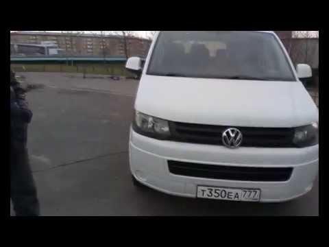 Прокат микроавтобуса Volkswagen Tranporter без водителя